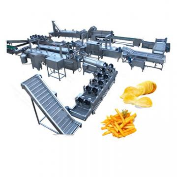 Hot Sale Automatic 500kg/H Fresh Potato French Fries Making Equipment